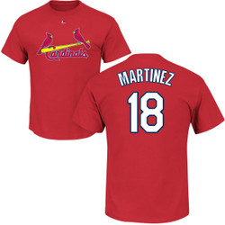 Carlos Martinez Youth T-Shirt - Red St Louis Cardinals Kids T-Shirt Photo