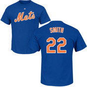 Dominic Smith Youth T-Shirt - Blue NY Mets Kids T-Shirt