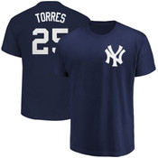 Gleyber Torres T-Shirt - Navy NY Yankees Adult T-Shirt
