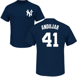 Miguel Andujar Youth T-Shirt - Navy NY Yankees Kids T-Shirt