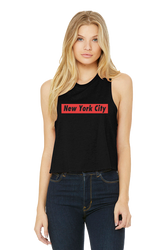 New York City Crop Tank - Black Supreme Photo