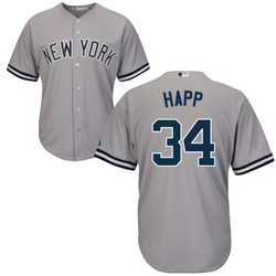 J.A. HAPP Jersey - NY Yankees Replica Adult Road Jersey Photo