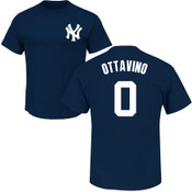 Adam Ottavino T-Shirt - Navy NY Yankees Adult T-Shirt