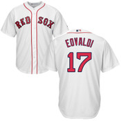 Nate Eovaldi Youth Jersey - Boston Red Sox Replica Kids Home Jersey