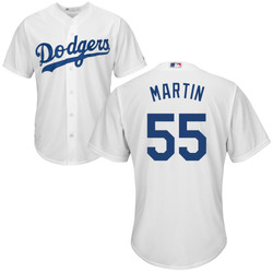 Russel Martin Youth Jersey - LA Dodgers Replica Kids Home Jersey Photo