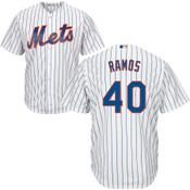 Wilson Ramos Youth Jersey - NY Mets Replica Kids Home Jersey