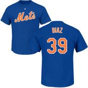 Edwin Diaz Youth T-Shirt - Blue NY Mets Kids T-Shirt