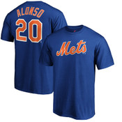 Pete Alonso T-Shirt - Blue NY Mets Adult T-Shirt