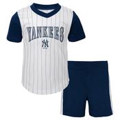 Yankees Kids Cooperstown Short Set