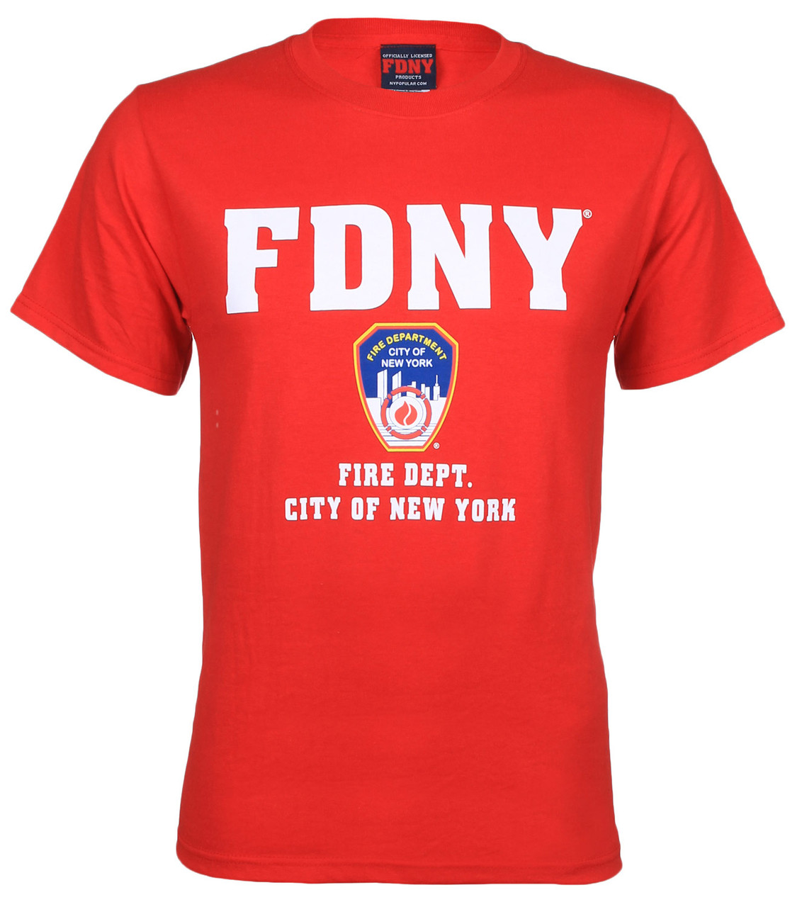 FDNY Full Chest Red Tee photo