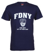 FDNY Distressed Navy Tee