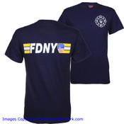 FDNY Stripe Navy Tee