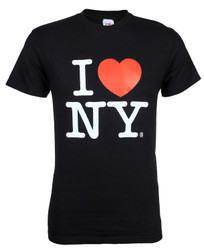 Black I Love NY Tee Shirt Photo