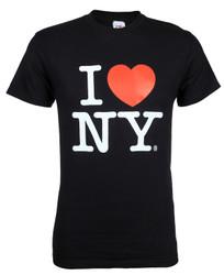 Black I Love NY Tee Shirt Photo