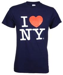 Navy I Love NY T-Shirt Photo