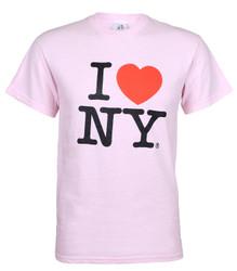Pink I Love NY Tee Shirt Photo