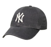 """Yankees Navy """"Franchise"""" Fitted Cap Photo"""