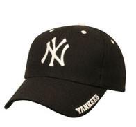"Yankees Black ""Frost"" Adjustable Cap Photo"