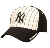 "Yankees Navy ""Pinstripe Frost"" Adjustable Cap"