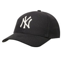 "Yankees Navy ""Shortstop"" Adjustable Cap Photo"