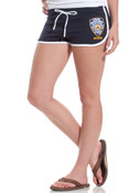 NYPD Navy Hi-Cut Shorts
