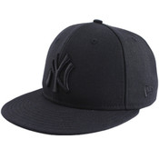 New Era Yankees 59FIFTY Black/Black Tonal Cap