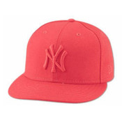 New Era Yankees 59FIFTY Red/Red Tonal Cap