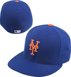 New Era Mets 59FIFTY Royal Authentic Game Cap Photo