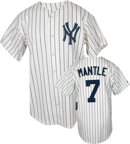 online retailer 89dbe 4949a Mickey Mantle Cooperstown Replica Jersey