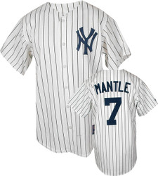 Mickey Mantle Cooperstown Replica Jersey Photo