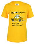 NY Taxicab Vrooom Kids Tee