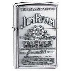 Jim Beam Pewter Emblem Zippo Photo