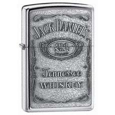 Jack Daniel's Label Pewter Emblem Zippo Photo