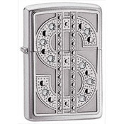 Bling Emblem High Polish Chrome Zippo