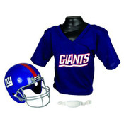 New York Giants Kids Small Helmet & Jersey Set