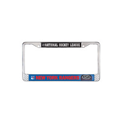 New York Rangers Metal License Plate Frame Photo
