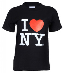 "I Love NY ""Classic"" Black Kids Tee Photo"