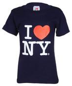 """I Love NY """"Classic"""" Navy Kids Tee"""