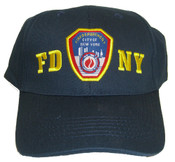 FDNY Patch Navy Adjustable Cap - FRONT
