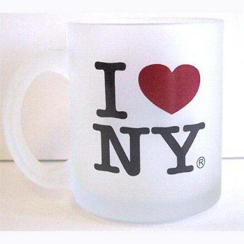 I Love NY Frosted 11oz. Mug photo