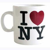 I Love NY White Espresso Mug