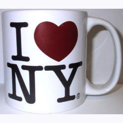 I Love NY White 20oz. Mug Photo