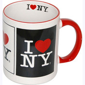 I Love NY 3 Panels 11oz. Mug