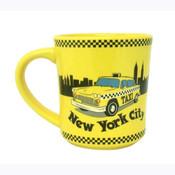 NYC Taxi Pastel 11oz. Mug