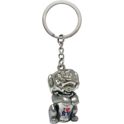 I Love NY Doggy Keychain Photo