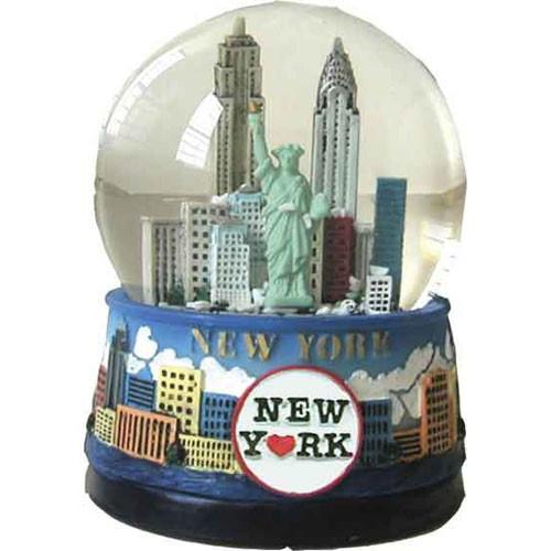 "NYC ""Blue Skies"" 45mm Snowglobe photo"