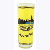 NYC Taxi Shooter Glass