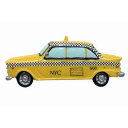 NYC Classic Taxi Magnet Photo