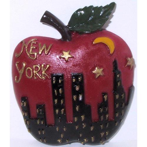 NYC Night Skyline Big Apple Magnet photo