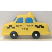 NYC Taxi Poly Magnet